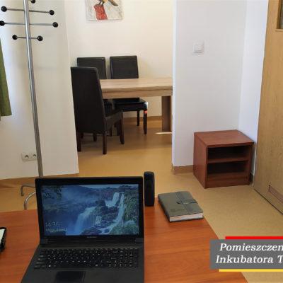 Pomieszczenie w ramach Inkubarota Turystycznego