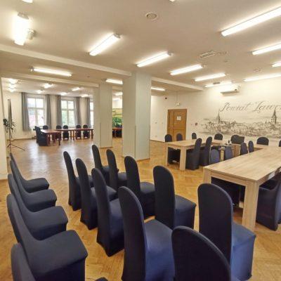 odnowiona sala Schroniska Młodzieżowego w Jaworze