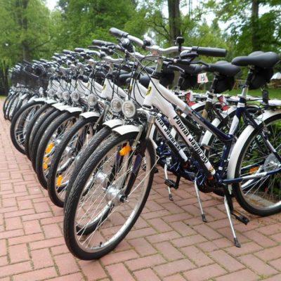 Wypożyczalnia rowerów w Schronisku Młodzieżowym w Jaworze